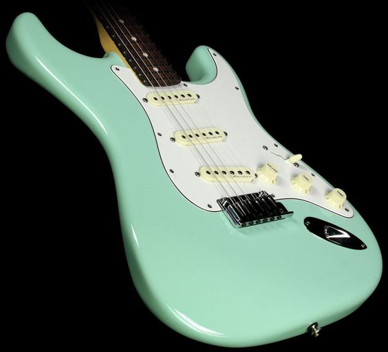 fender custom shop jeff beck stratocaster electric guitar seafoam green fender pinterest. Black Bedroom Furniture Sets. Home Design Ideas