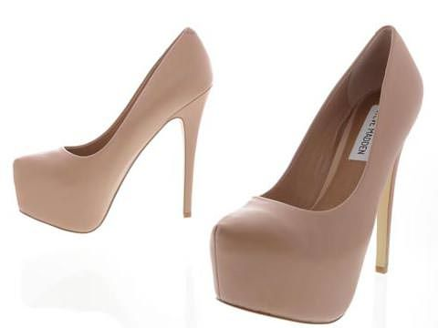 Steve Madden nude high heels | Shoes | Pinterest | To be, Steve ...