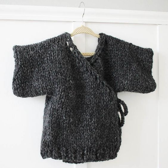 Knitting Jumpers For Beginners : Knitting patterns kimonos and knit on pinterest