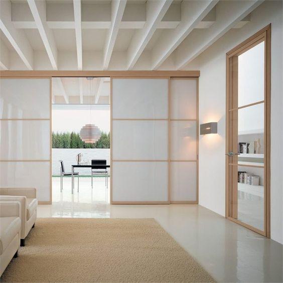 Come Dividere Una Stanza Senza Pareti.Come Dividere Una Stanza Senza Opere Murarie E In Breve Tempo Porte Vetro Scorrevoli Interior Design Giapponese Interni Giapponesi