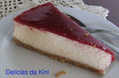 Delícias da Kini: Cheesecake