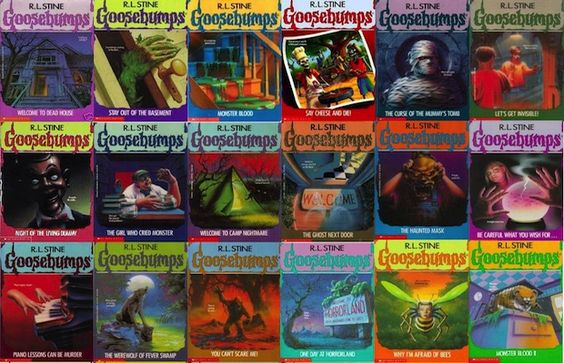 The 25 Coolest Things You Owned In The 90sgoosebumps Rl Stine Goosebumps Books Horror Books