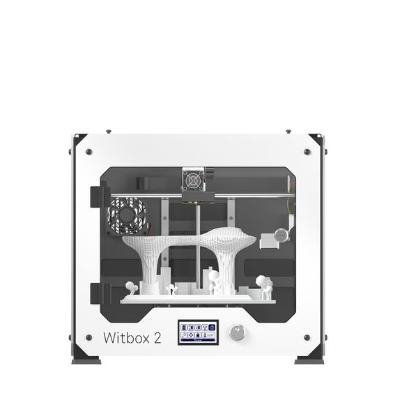 De Witbox 2 is de 2e generatie 3D printer van het Spaanse Elektronica concern BQ.  https://www.bits2atoms.nl/3d-printers/bq-witbox-2-3d-printer