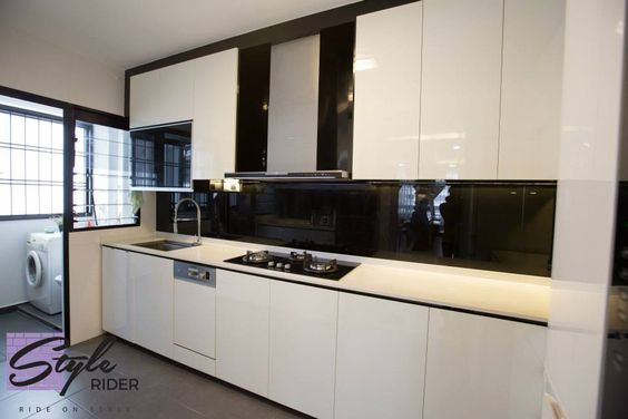 Stylerider Hdb Bto 5 Room Maximised Storages Punggol 27 Interior Kitchen Cabinet Pinterest