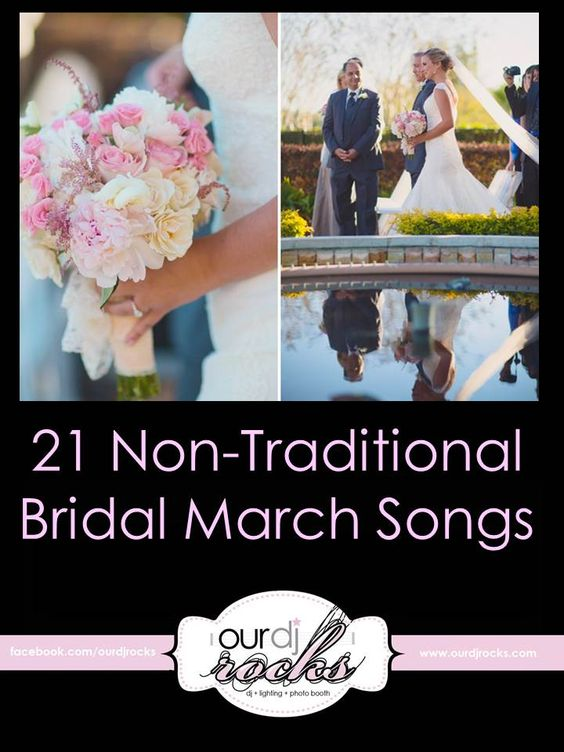 Wedding Party Walking Down The Aisle Songs: Songs, The Bride And Thinking Outside The Box On Pinterest