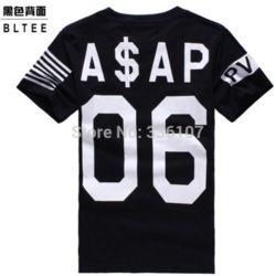 Online Shop ASAP ROCKY VSVP 06 Men's Hip Hop t-shirt America Flag Print PYREX Cotton Tee Shirts Men Casual Clothing|Aliexpress Mobile