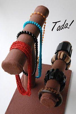 DIY bracelet storage