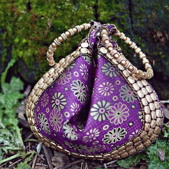 Royal Purple Potli Bag