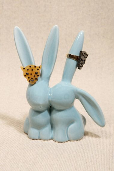 Bunny Ring Jewellery Stand