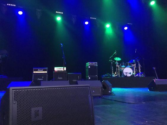 Вид на сцену