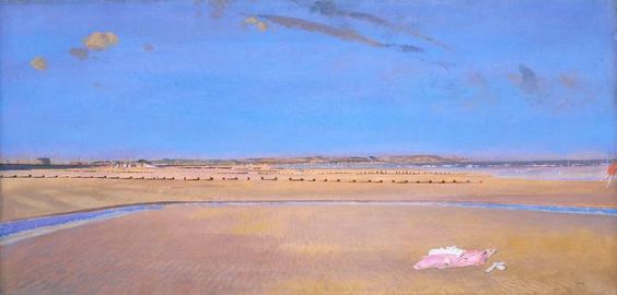 Charles Sims 'The Sands at Dymchurch', c.1920–2