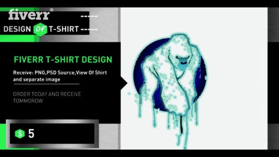 For only $5, I will 3d Design For Your T Shirt. | Hello I can make for you…