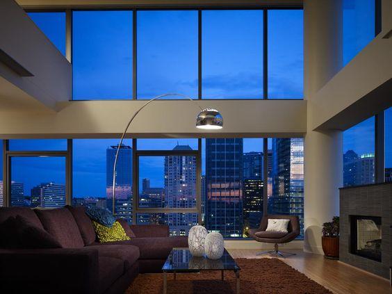 An elegant penthouse in Seattle, Washington