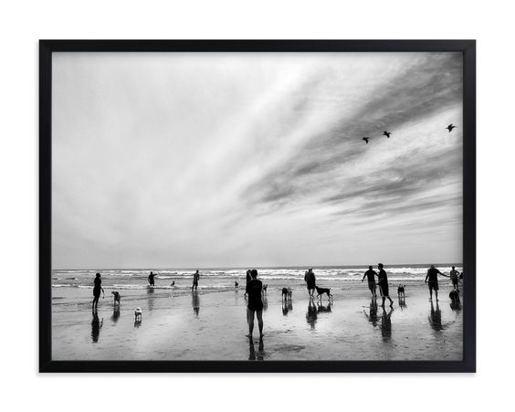 """""""Play Date"""" - Art Print by Michelee Scott in beautiful frame options and a…"""