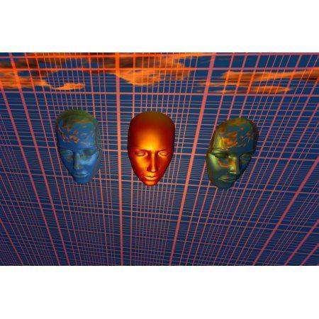 The modern face of robotics Canvas Art - Mark StevensonStocktrek Images (18 x 12)