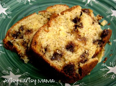 Easy Banana Bread using a cake mix and NO OIL!!