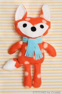 15  Fox Stuffed Animal Tutorials