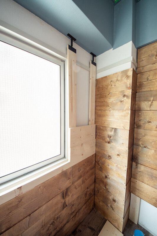 賃貸diy ラブリコを使って西海岸風の木の壁を作る方法 99 Diy Diy