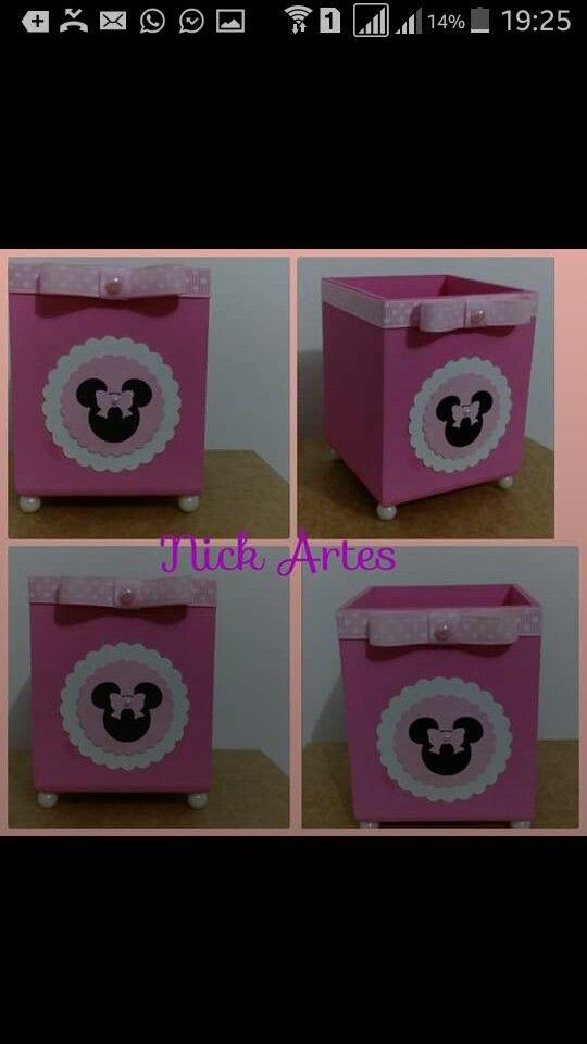 Lembrancinha Minnie rosa