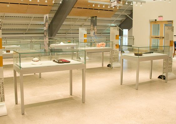 Zone Display Cases - Products - Table cases - Museum quality display cases