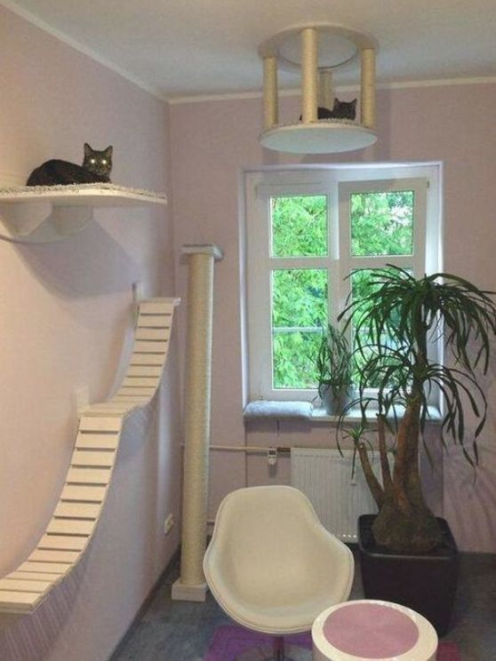 Creative Diy Cat House Ideas For Indoor Outdoor For All Cat Lovers Cat House Diy Cat Houses Indoor Cat House