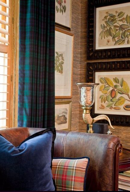 Tartan touches from.......Lee's Hideaway: Another Look!