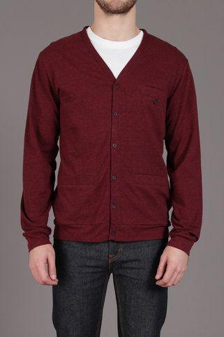 The Custom Fleck Fabric Cardigan Sweater