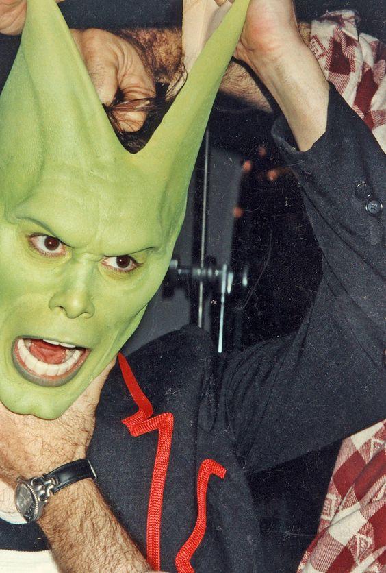 كواليس فيلم القناع الأخضر The Mask