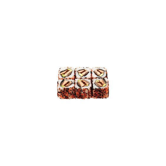 Ура-маки - Мурманский Интернет-магазин суши ❤ liked on Polyvore featuring food, fillers, sushi, food and drink and food & drink