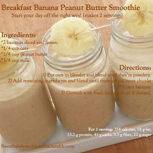 peanut butter peanuts gluten free oats messages smoothie butter ...