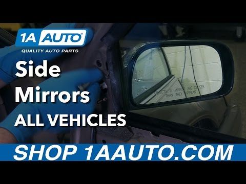 How To Install Replace Side Mirrors On Any Vehicle Youtube Replacing Siding Side Mirror Installation