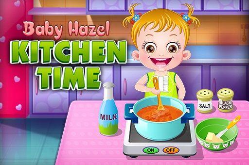 لعبة بيبي هازل وقت الطبخ Baby Hazel Kitchen Time لعبة جديدة من العاب طبخ الرائعة جدا علي العاب ميزو Stuffed Peppers Kitchen Time Cooking
