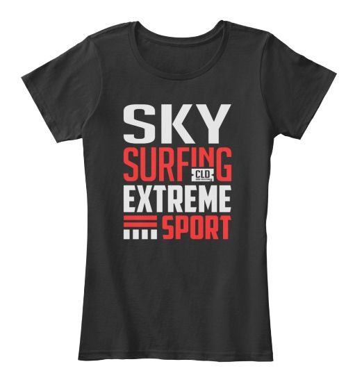 Sky Surfing Extreme Sport T-shirt