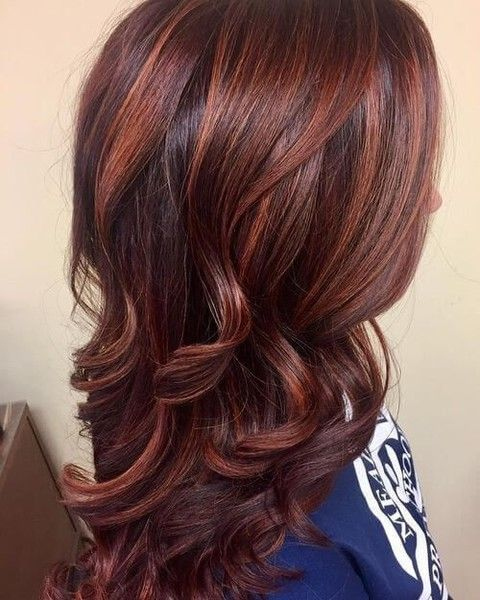 Red Brown Hair Color Pictures