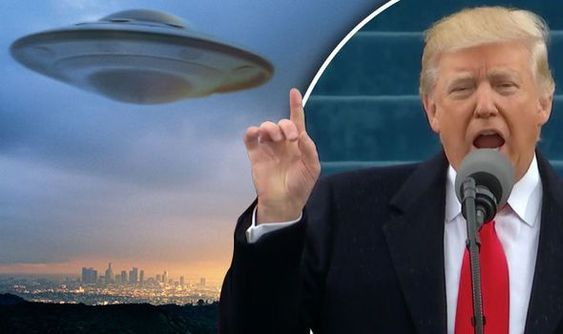 Will Trump reveal aliens exist? New President vows to 'unlock mysteries of space' - Alien UFO Sightings
