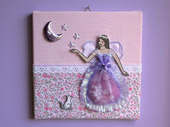 A fairy for a baby girl's room