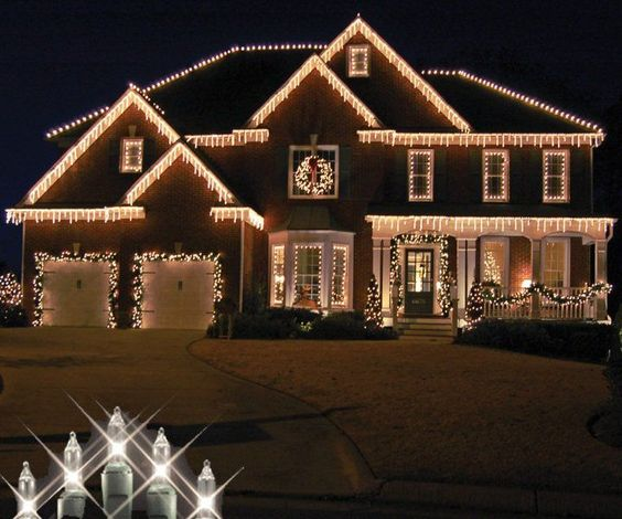 Holy Family, Nativity And Christmas Lights On Pinterest