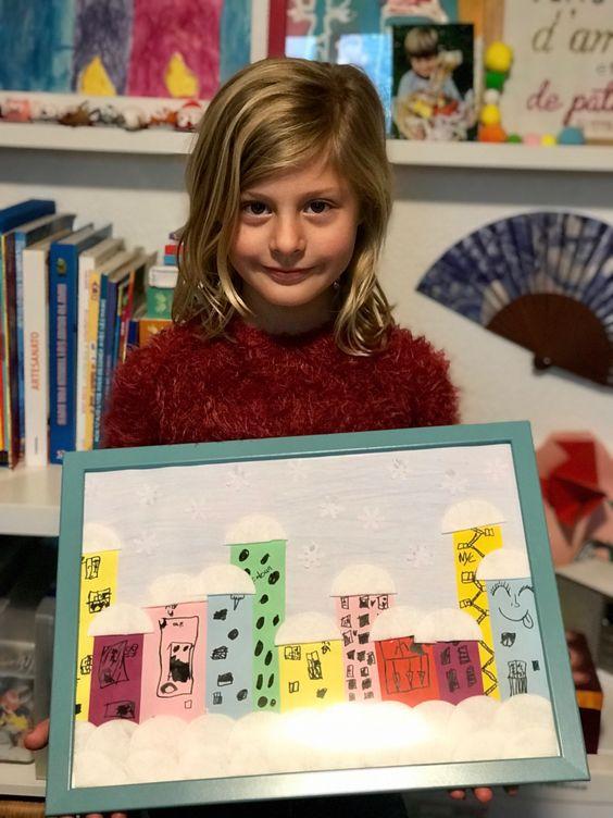 Atelier de bricolage pour jouer et apprendre sur le thème de l'hiver.