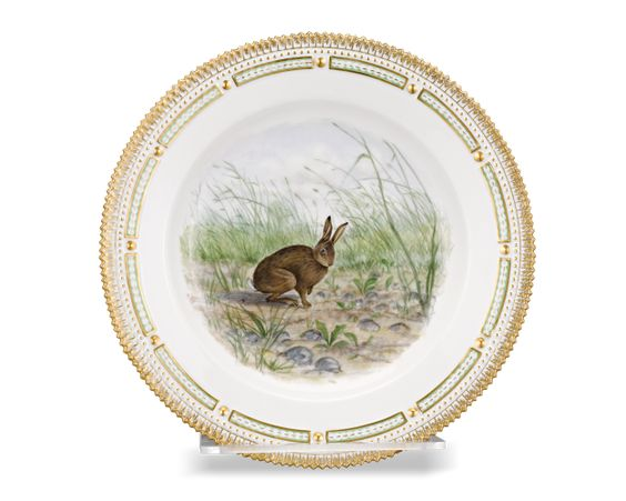 Flora Danica Game Series Covered Vegetable Dish - Porcelain, Since 1912 | M.S. Rau Antiques