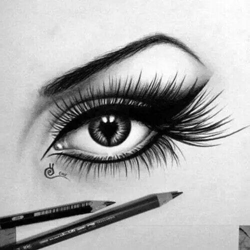 Beautiful Eye Drawing Lippencilandlipstickcombo Eye Drawing