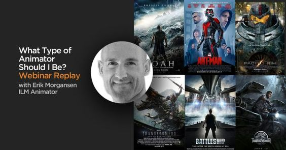 What Type of Animator Should I Be – Webinar Reply by ILM Animator Erik Morgansen