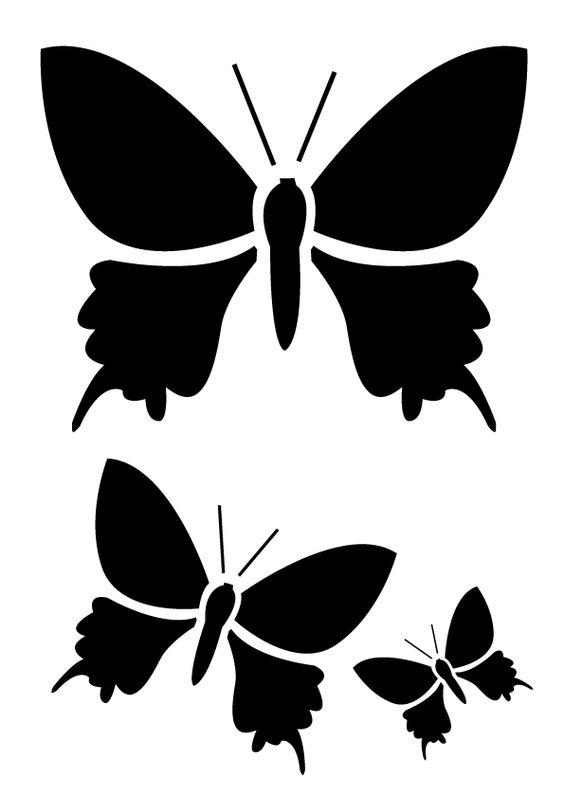 Modele pochoir gratuit imprimer papillon pictures pochoirs pinterest animaux google et photos - Pochoir gratuit a imprimer ...