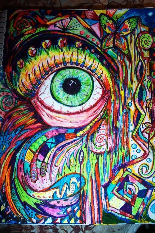 Best Psychedelic Videos to Watch While Tripping (Video ... |Crazy Trippy Drawings