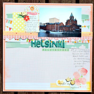 really pretty layout made from one of Shimelle's starting points. (sometime in Sept. 2012)