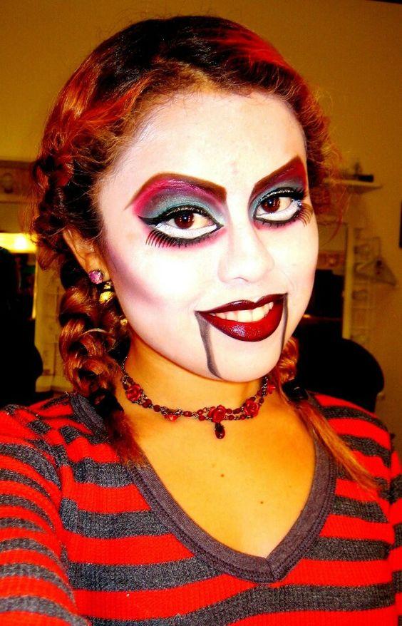 halloween makeup puppet makeup instagram jossy102. Black Bedroom Furniture Sets. Home Design Ideas