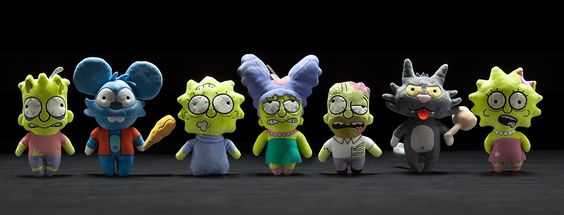 SIMPSONS TREEHOUSE OF HORROR PLUSH