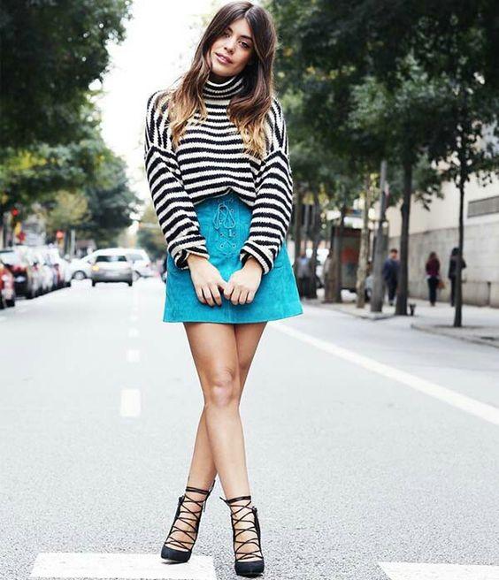 Trend - saia turquesa
