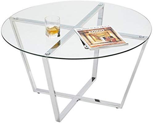Amazon Com Mango Steam Metro Glass Coffee Table Clear Glass