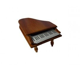 $1 Miniature Piano. Great price for this entertainment piece