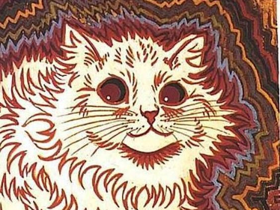 Louis Wain's Psychedelic Cat Portraits Will Trip You Out - ALLDAY